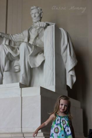 Lincoln Memorial Dancing