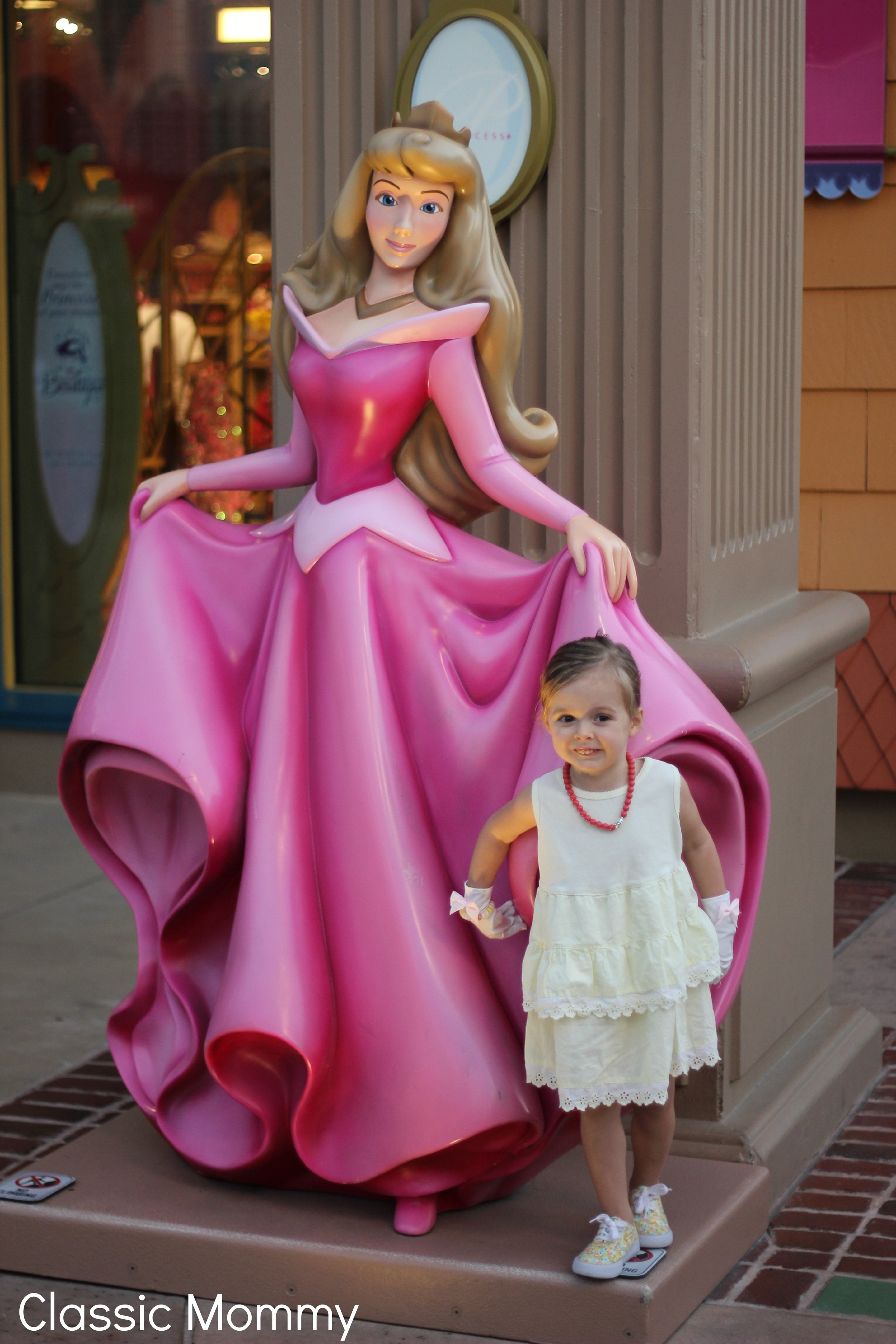 Princess Aurora Downtown Disney