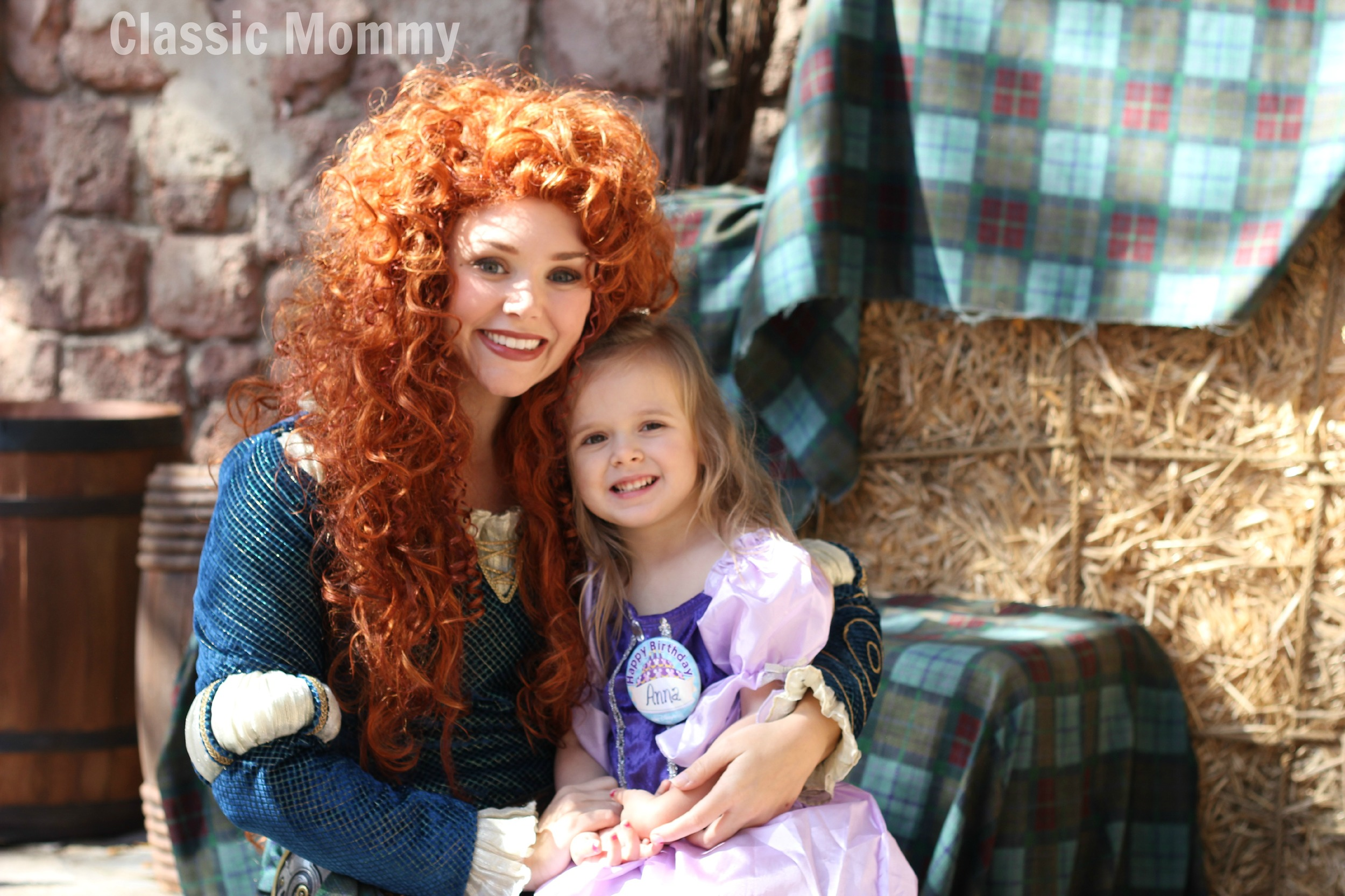 Disney Character Interaction With Merida