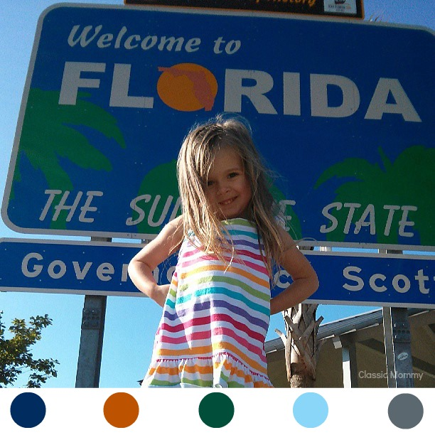 Florida Welcome Sign InstaPalette