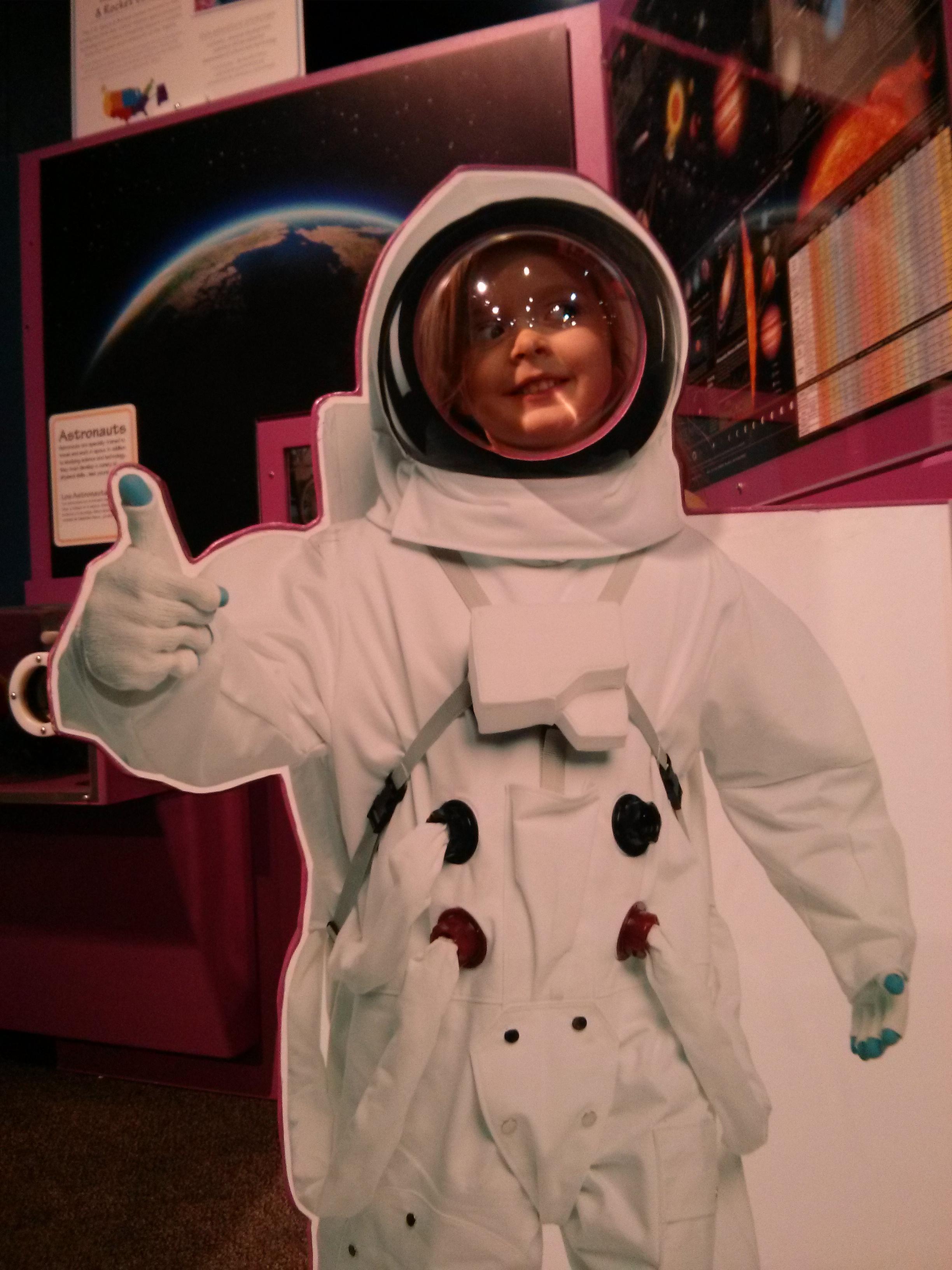 Astronaut Danger WEEBLES Coast Children's Museum of Atlanta