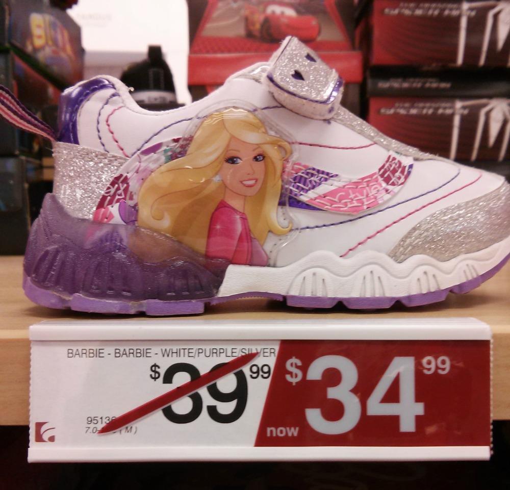 Famous Footwear Barbie Shoes