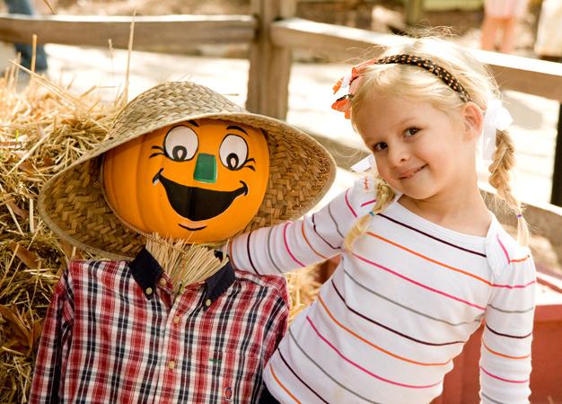 Stone Mountain Pumpkin Scarecrow