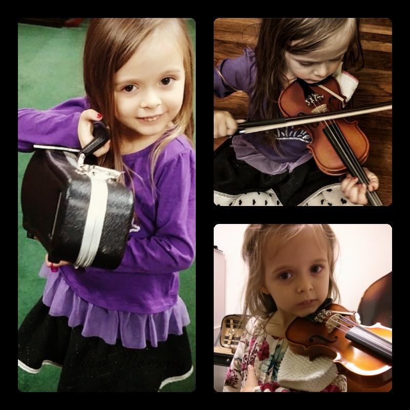 Suzuki Violin Student