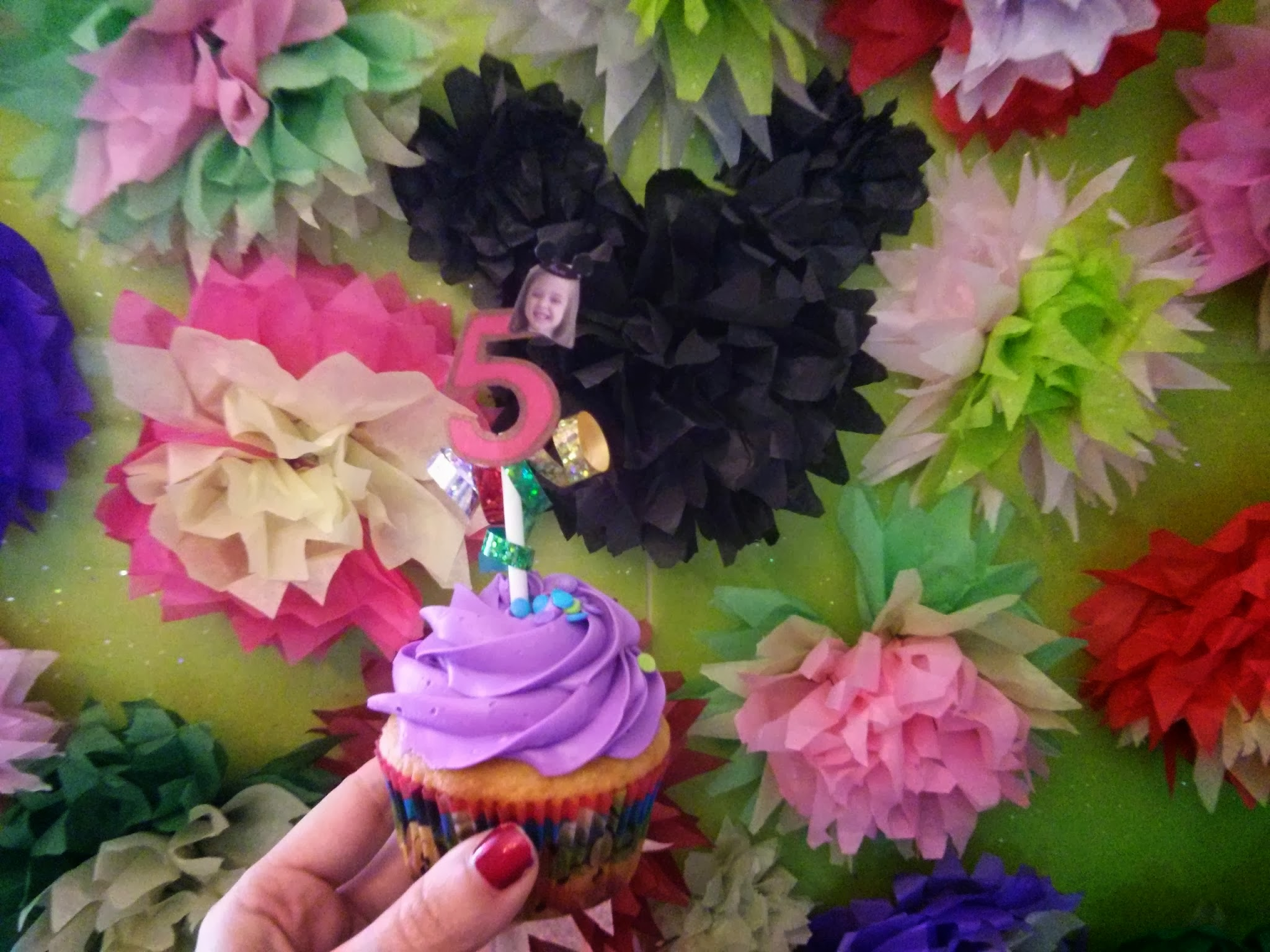 Disney Cupcake Topper DIY
