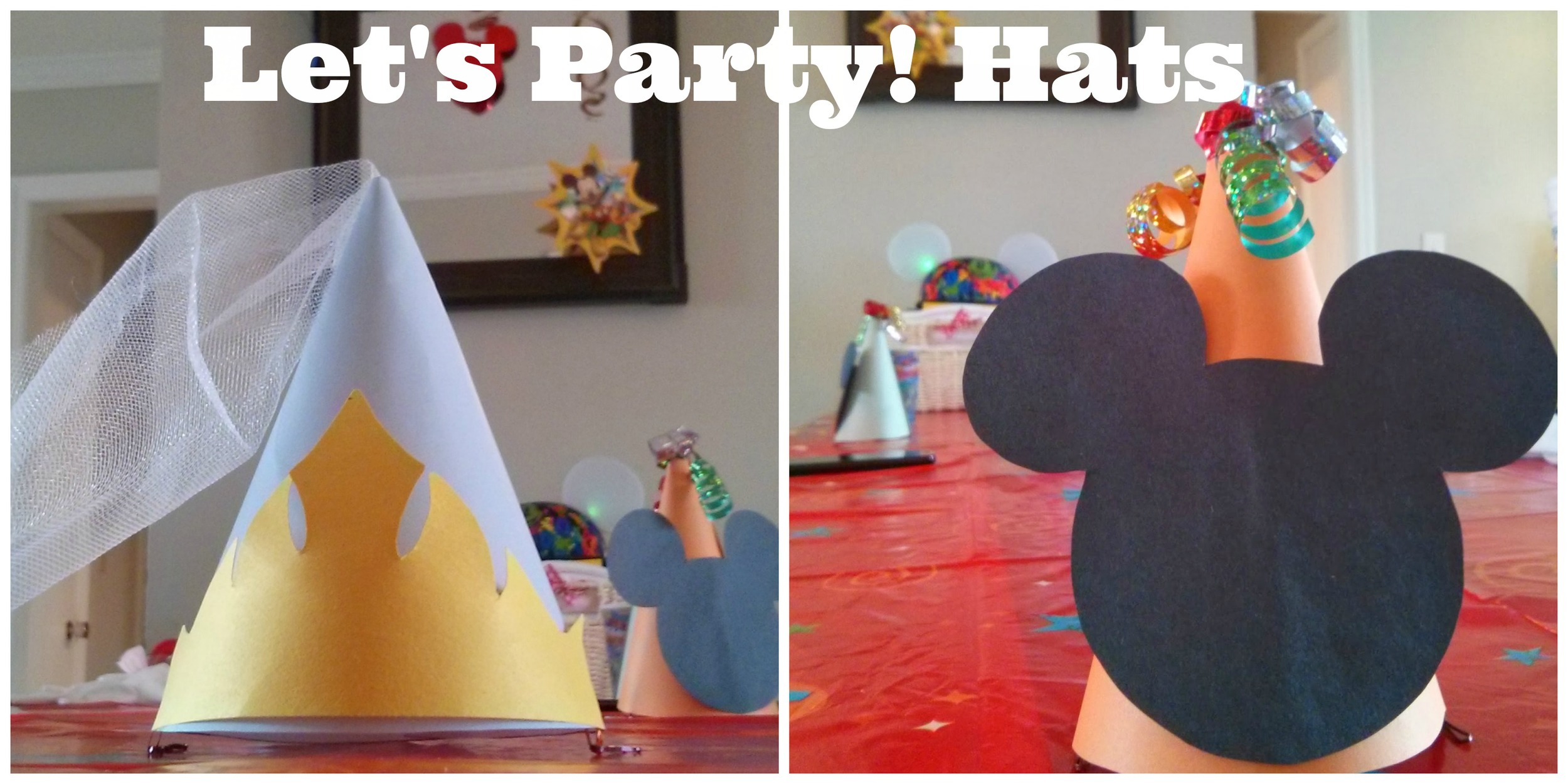 DisneySide Party Hats DIY