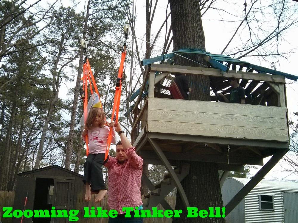 DisneySide Tinker Bell Zipline