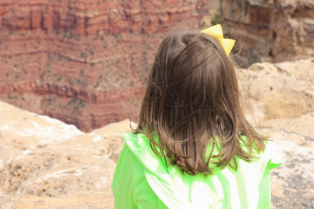 Overlooking the Grand Canyon: #familytravel on the Classic Mommy Blog