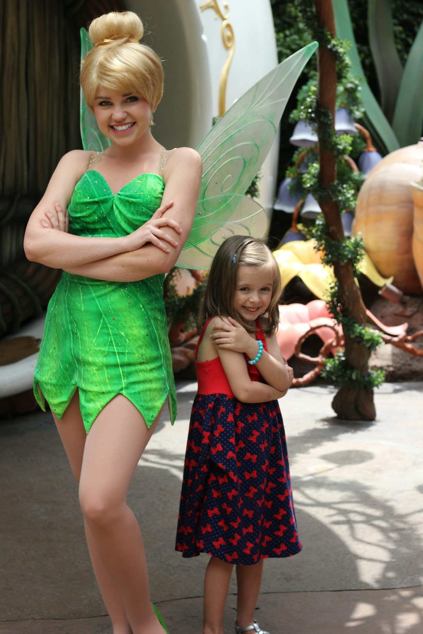 Disneyland Tinker Bell #DisneySMMoms