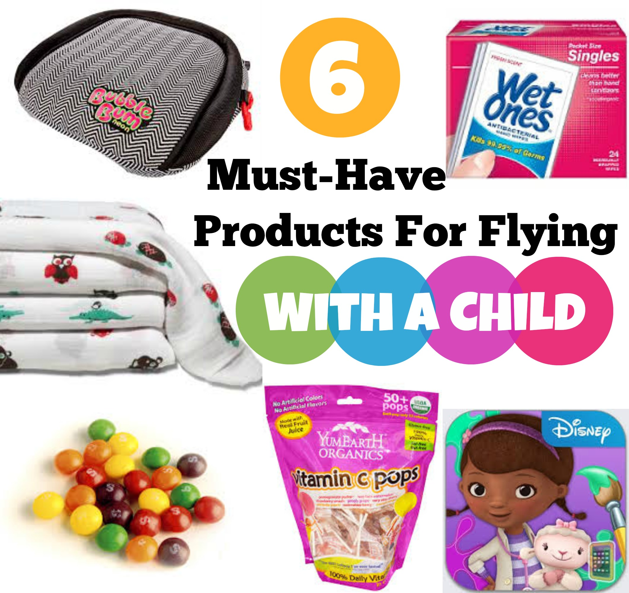 6 Must-Have Products For Flying With Child #familytravel