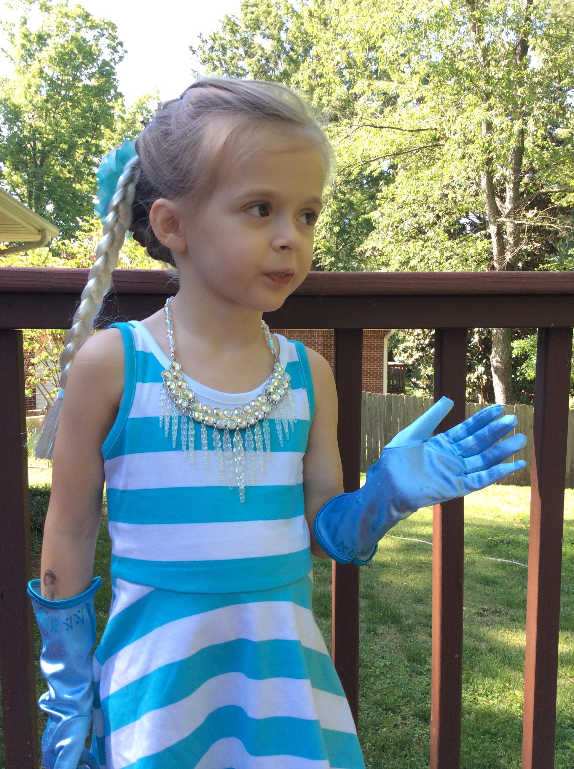 Disney Elsa Costume Homemade