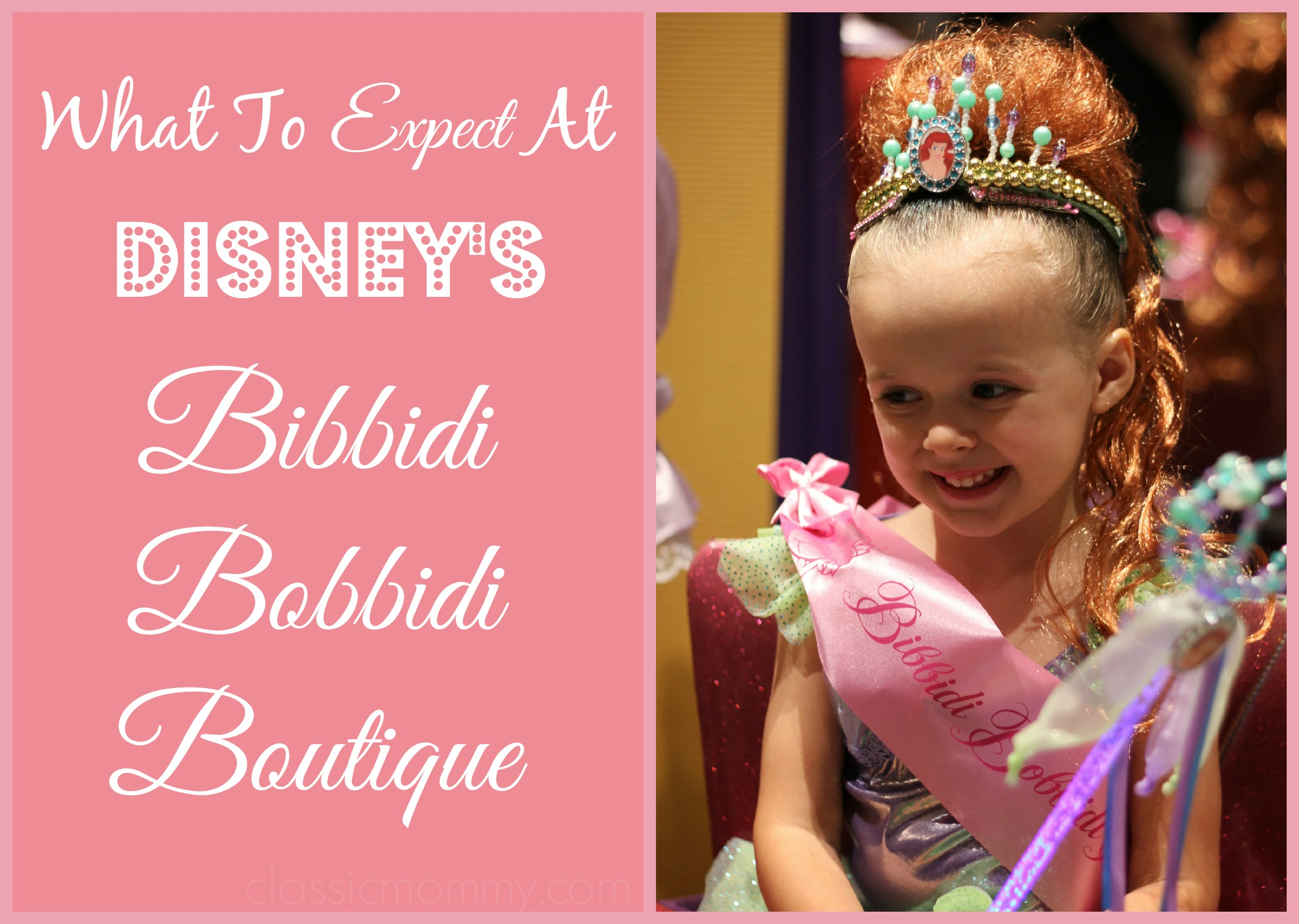 What to expect at Disney's Bibbidi Bobbidi Boutique