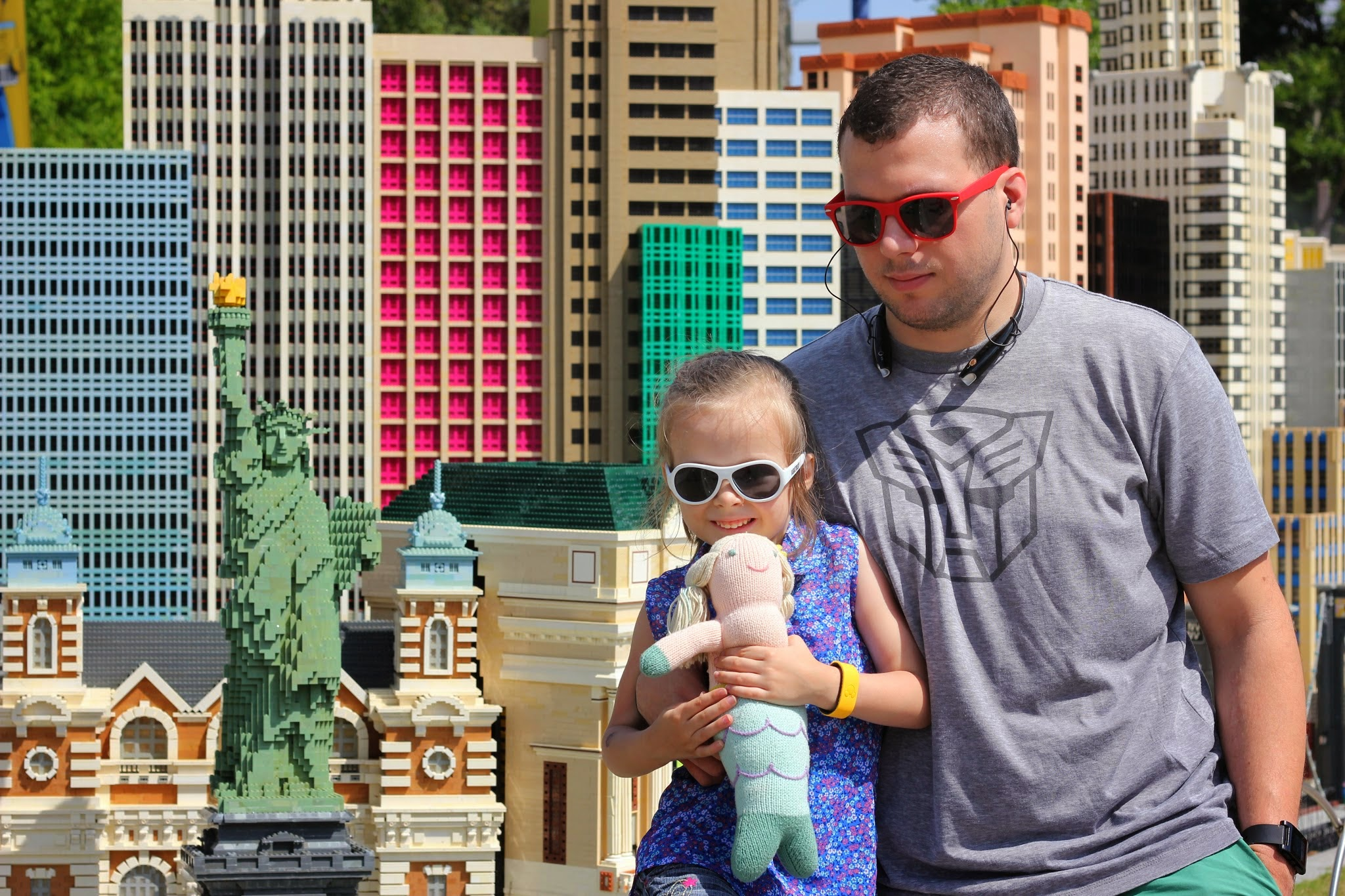 Las Vegas (New York in LEGOs) LEGOLAND #familytravel