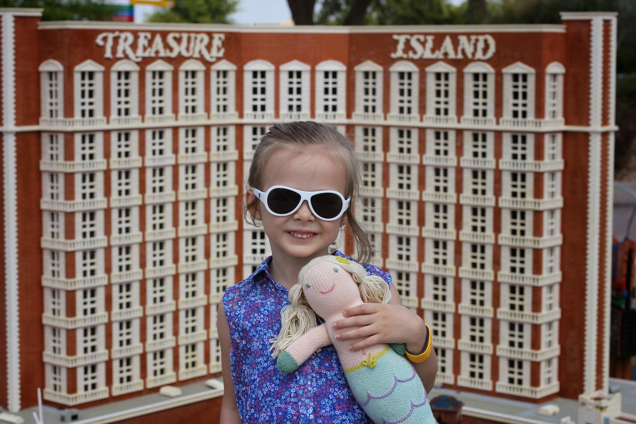 Las Vegas Treasure Island in LEGOs LEGOLAND #familytravel
