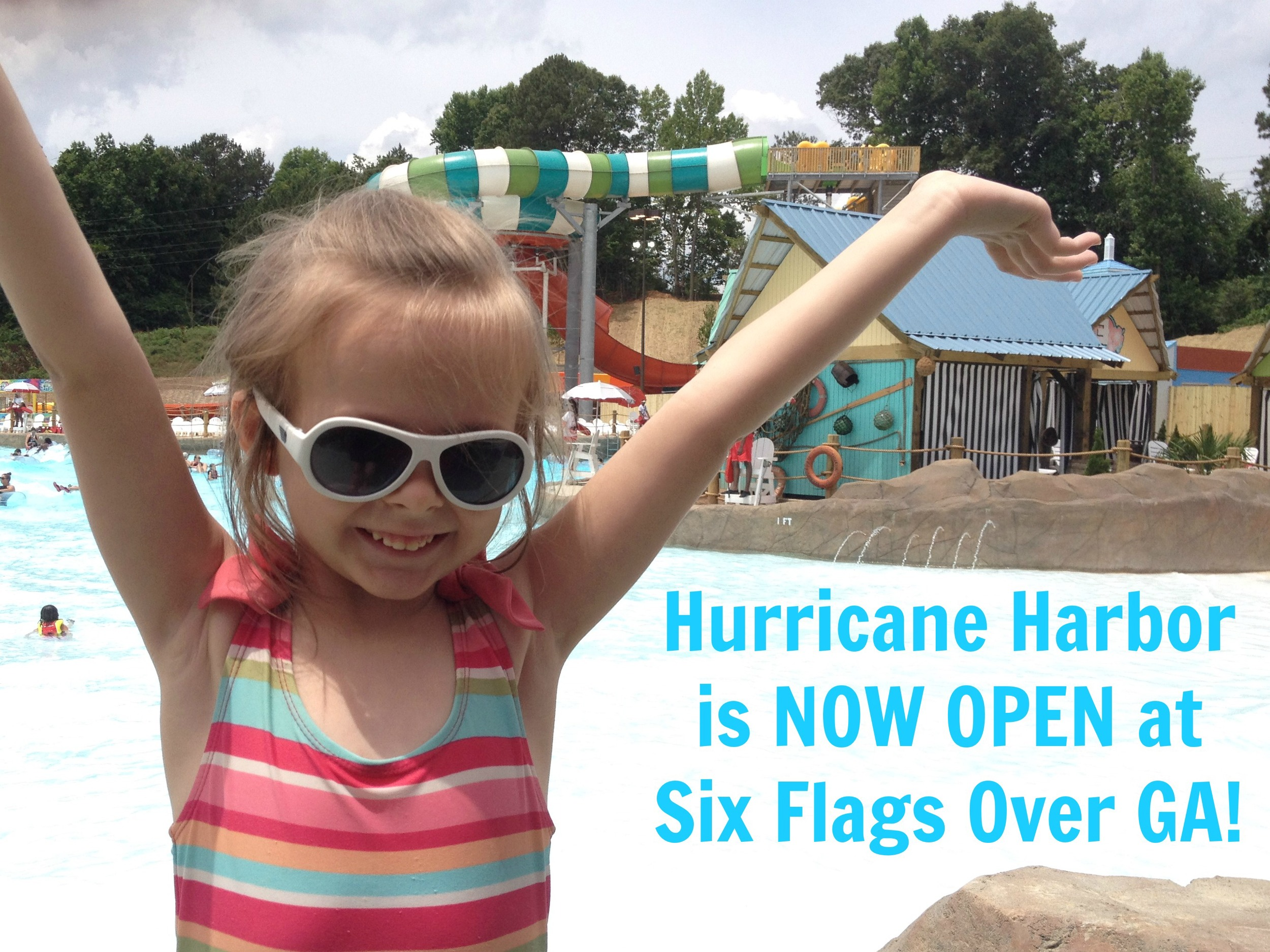Hurricane Harbor at Six Flags Over Georgia Atlanta Mommy Blog Review