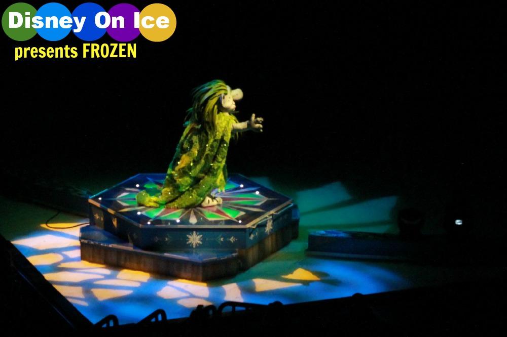 Disney On Ice presents Frozen in Atlanta! Troll Pabbie speaks. Image by Atlanta Mom Blogger : Classic Mommy