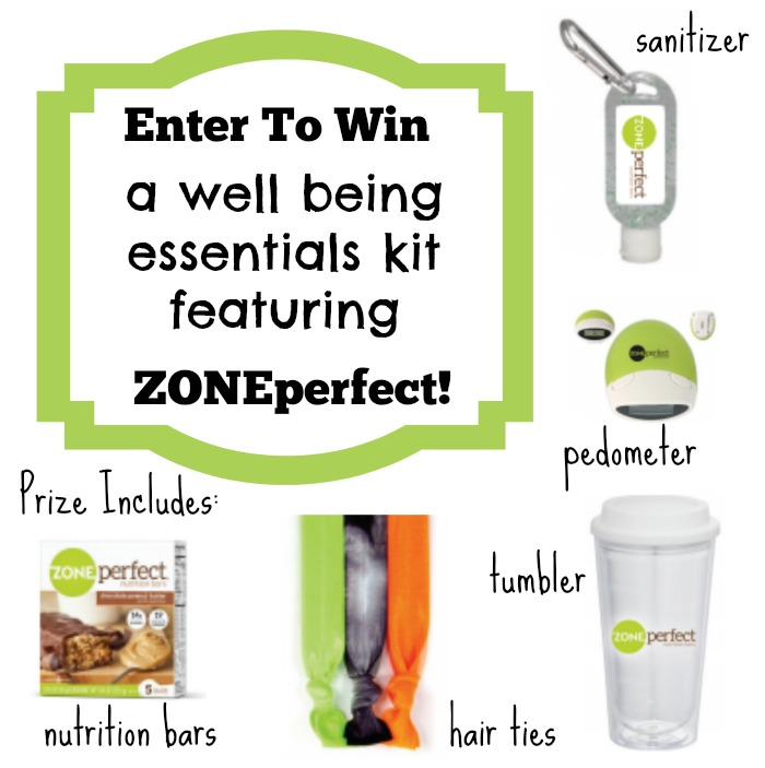 Win a ZonePerfect well being essentials kit from Atlanta Mom Blogger Classic Mommy! Flash giveaway ends 10/14 at 4 p.m. EST!