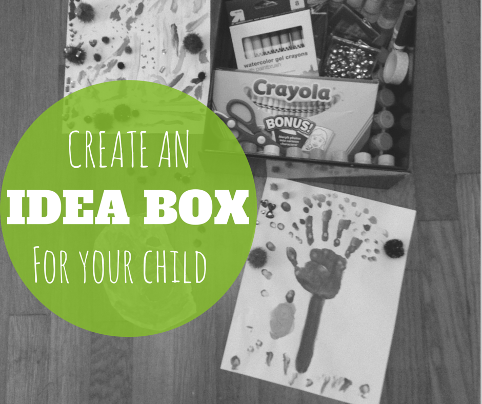 Creative Galaxy Idea Box! Craft idea and image created by Atlanta Mom Blogger: Classic Mommy