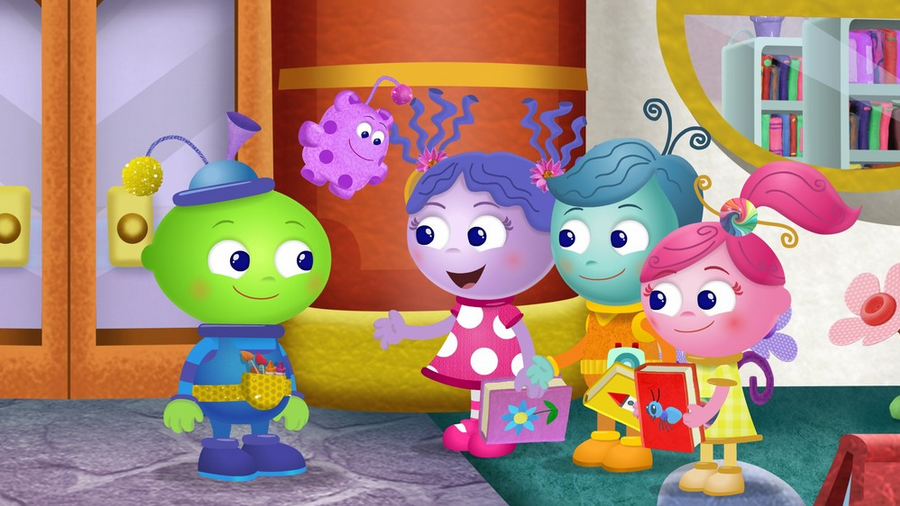Amazon Prime Instant Video's New Preschool Series Creative Galaxy - Review by Atlanta Mom Blogger: Classic Mommy