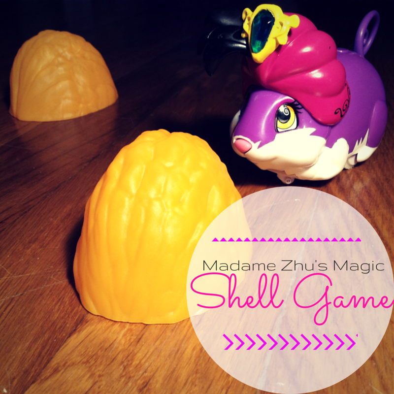 The Amazing Zhus are this year's hot holiday toys 2014! Check out Madame Zhu's Shell Game trick on this review by Atlanta mom blogger: Classic Mommy.