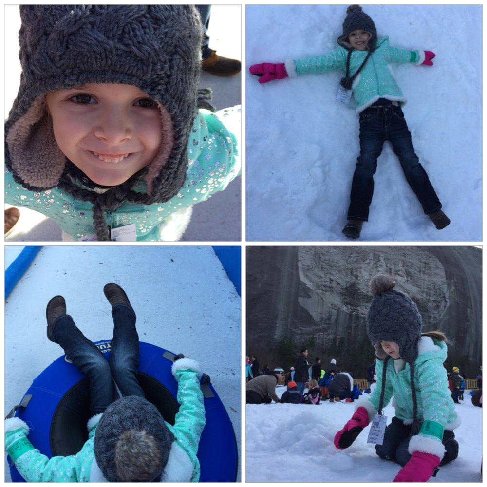Snow Mountain has returned to Stone Mountain Park! Review by Atlanta mom blogger Classic Mommy!