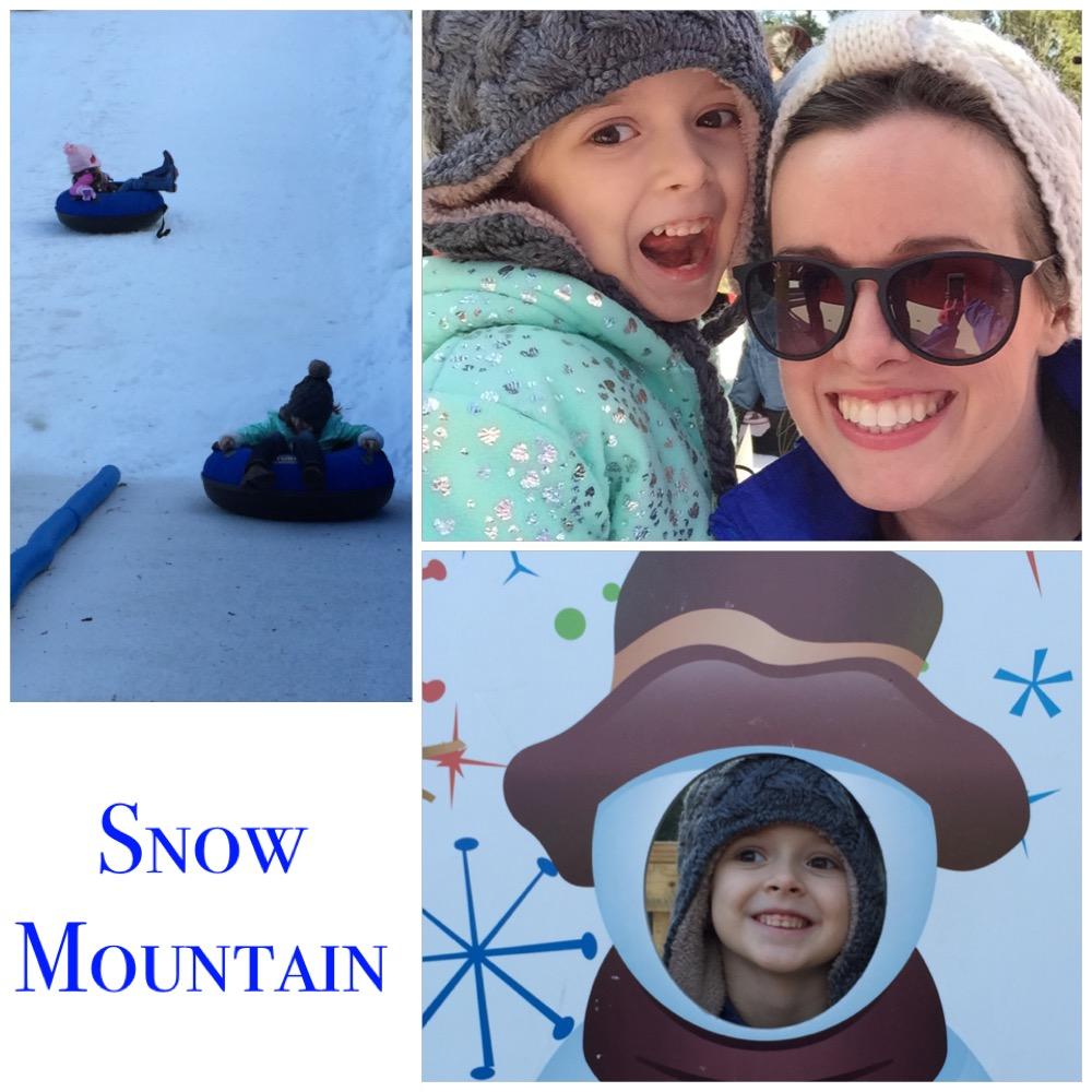 Snow Mountain has returned to Atlanta's Stone Mountain Park! Read the review by Atlanta Mom Blogger - Classic Mommy!