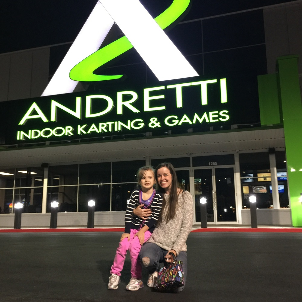 Family-Friendly Atlanta Attraction: Andretti Indoor Karting & Games Grand Opening Celebration! | Review by Classic Mommy, an Atlanta mom blogger