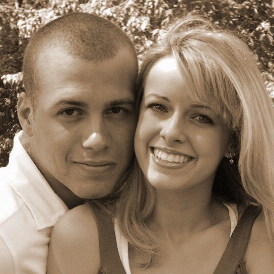 🖤T H R O W B A C K 🖤 I was blonde and he was bald. Now we are both old. #tbt