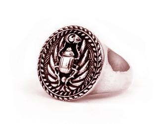 Scarab Crest Ring