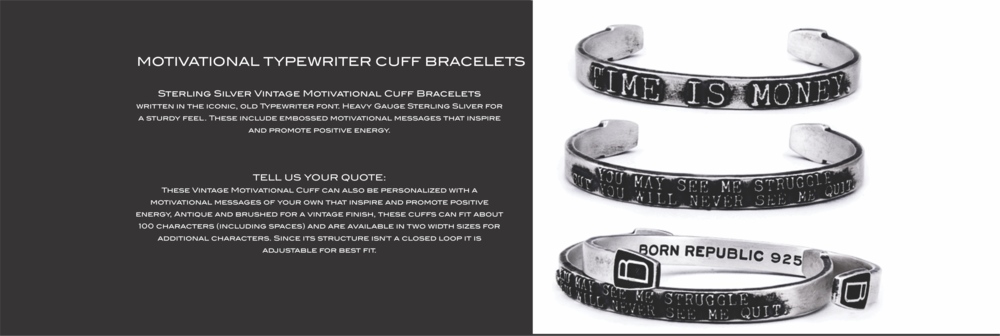Born Republic Vintage Motivational Cuff Bracelets Banners.png