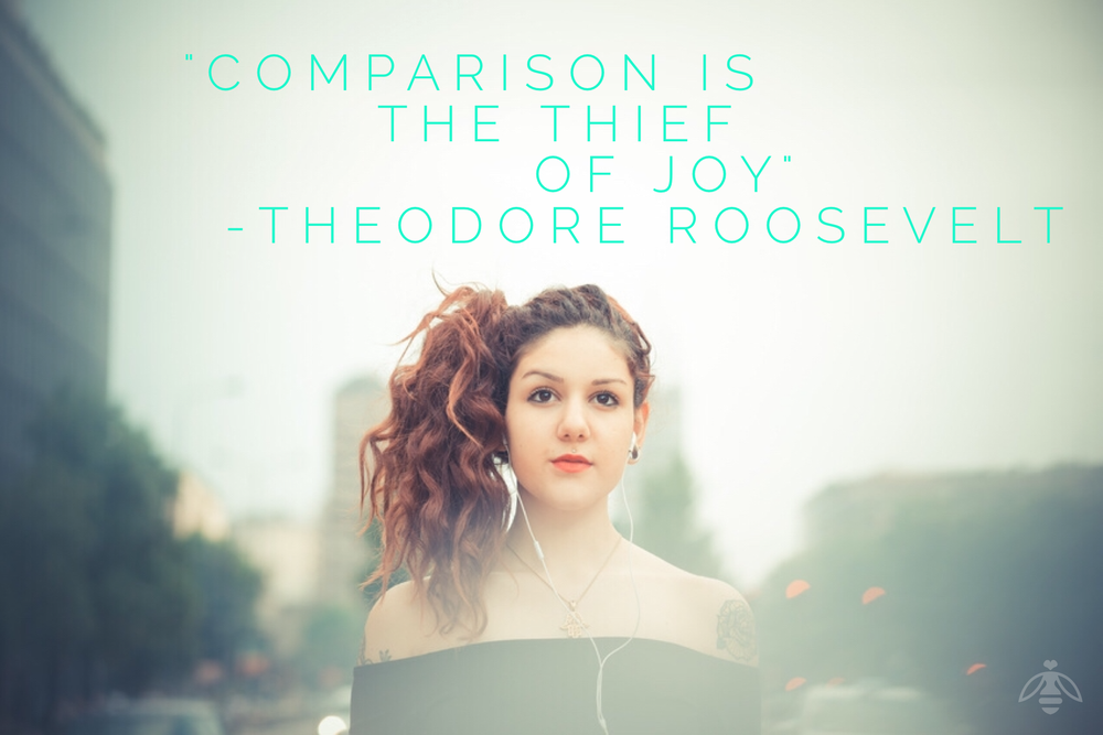 comparison is the thief of joy hive workshops