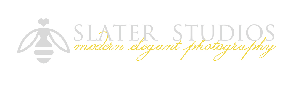 Slater studios of photography logo bee melissa slater destination wedding photographer
