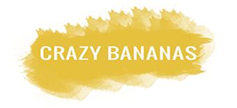 crazy bananas logo hive workshops