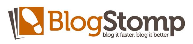 blogstomp logo hive workshops sponsor blogging class