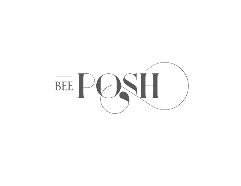 bee posh portraits kc logo