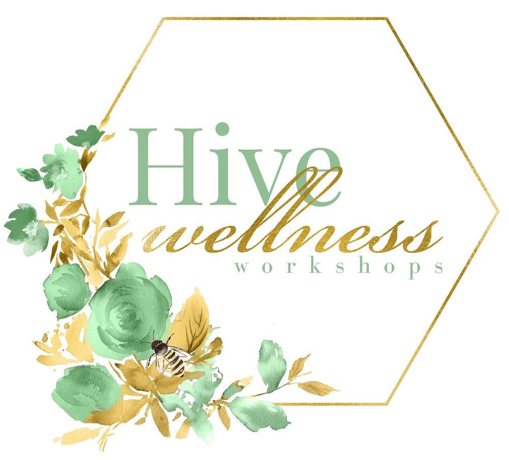 hive workshops wellness logo