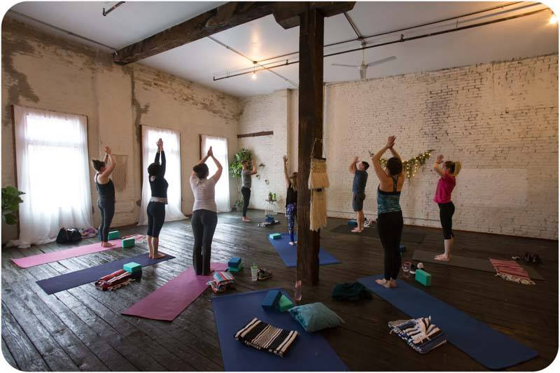 hive wellness workshops yoga with jesse davis