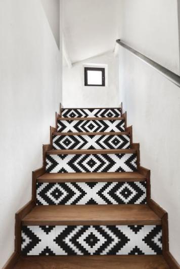 Blog anna versaci design for Astuce peindre cage escalier