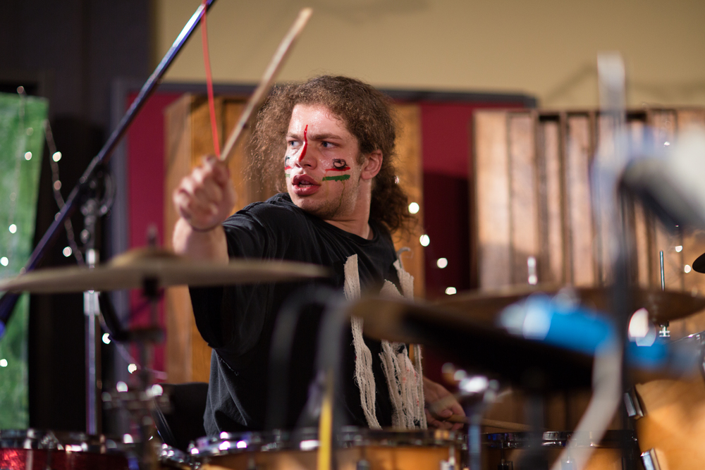 "Ben Wallace-Ailsworth    Gosh I don't recognize this guy....Oh wait, now I remember.  This is Ben Wallace-Ailsworth.  He's the drummer.  He knows how to apply the proper dose of stank to the music.  His solo project ""If So, So What"" is great:    https://www.facebook.com/ifsosowhat"