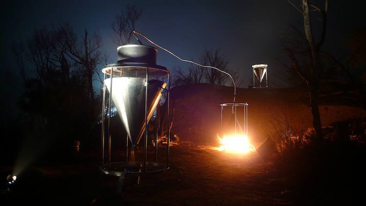 Distillation Installation by Richard Thomas