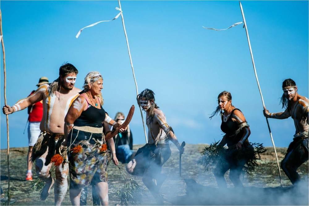 Dancers: Wadawurrung Dancers;Photographer: Ed Sloane
