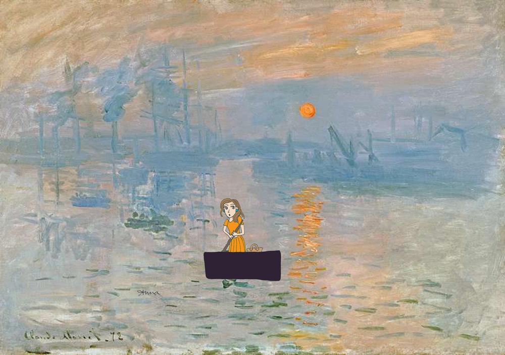 © Anna Lustberg ft Claude Monet