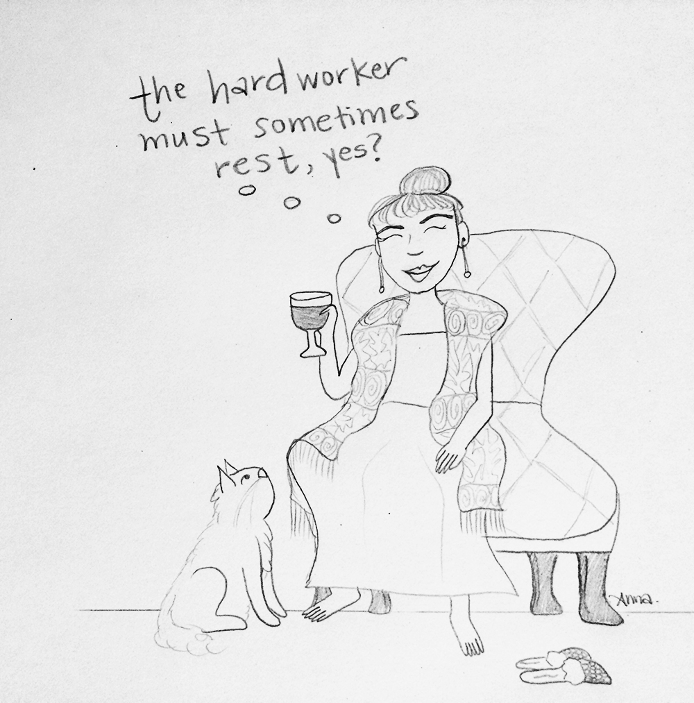 The Hard Worker  (June 23, 2015)
