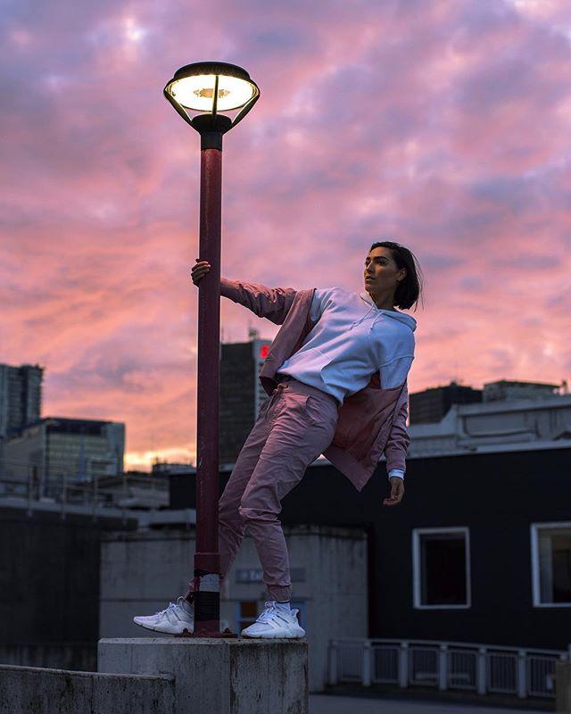 postin' up for last nights sunset 🔥#adidasnz