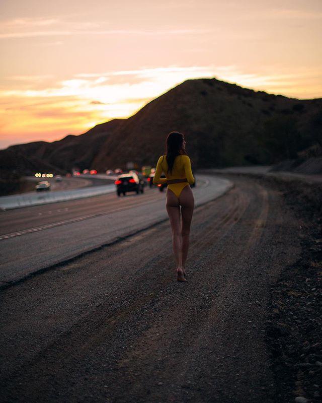 Hitchhiking in LA 🔥