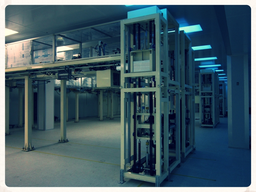 Performed installation of conveyors and lifters inside class 10,000 clean room, 2010