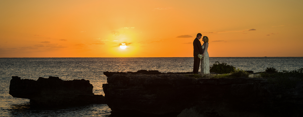 Sunset Wedding at Smith's Cove, Grand Cayman
