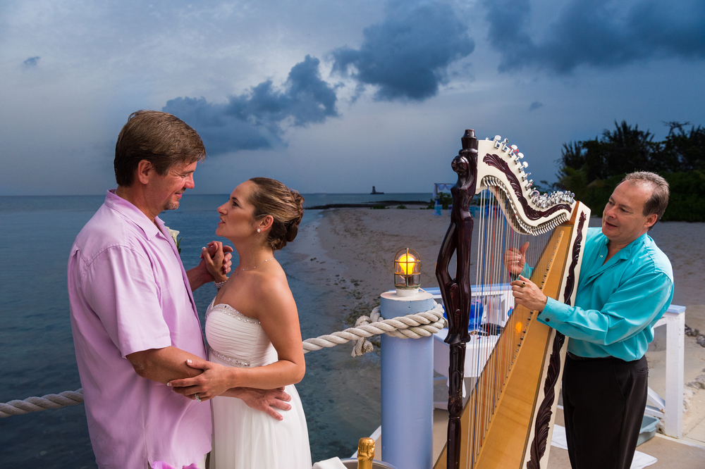Romantic Wedding in Cayman