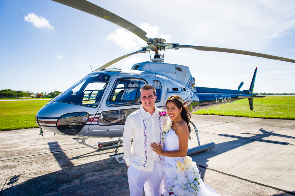 Married in Cayman Islands