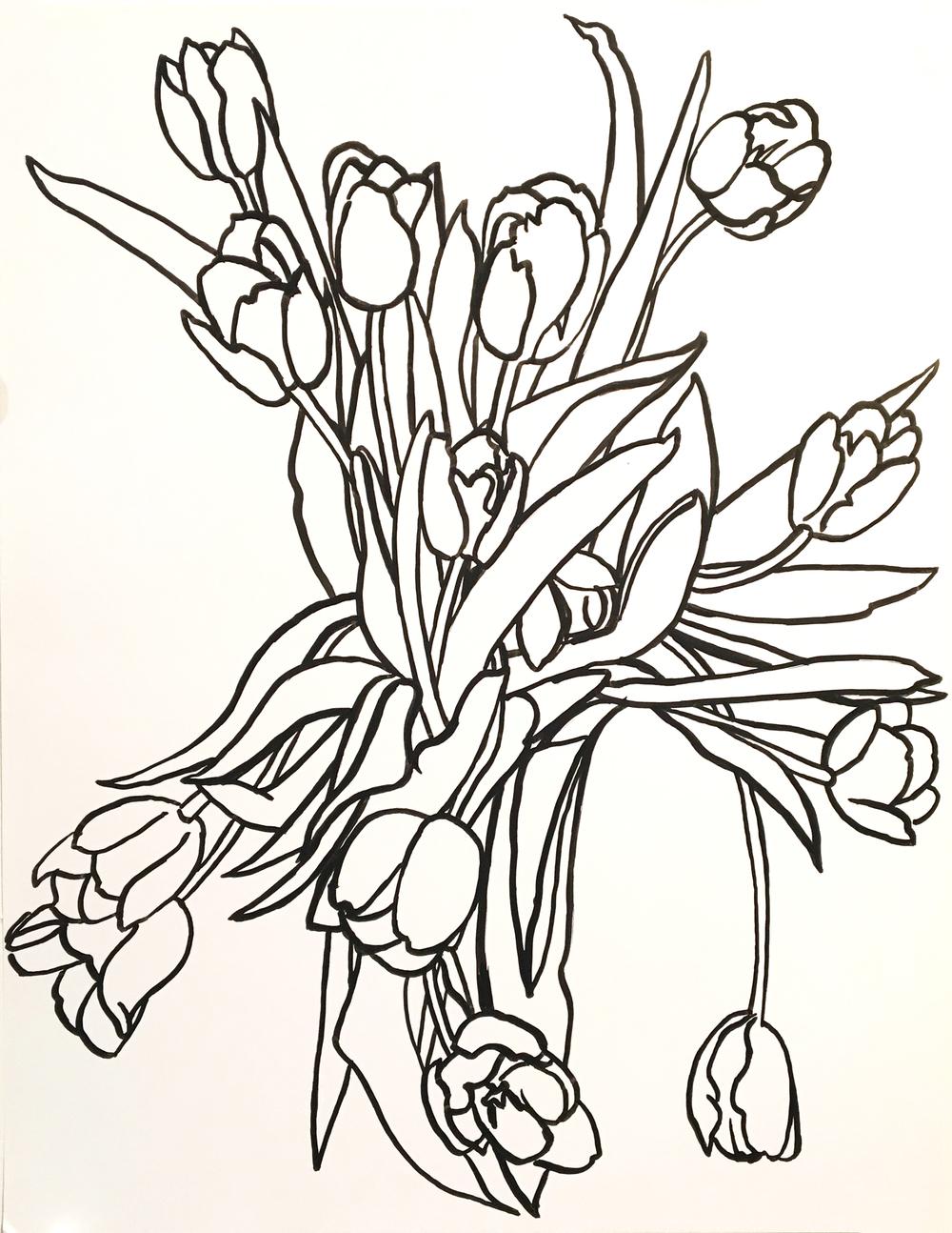 14 Tulips